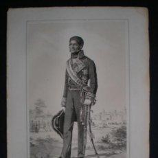 Militaria: TENIENTE GENERAL D. ALEJANDRO GONZALEZ VILLALOBOS (MÁLAGA 1784-1854). ESTADO MAYOR DEL EJÉRCITO . Lote 51892180