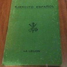 Militaria: CARTILLA CABO DE LA LEGIÓN DEL AÑO 1958,TERCIO DUQUE DE ALBA, LICENCIADO EN RIFFIEN OCTUBRE DE 1961. Lote 52139346