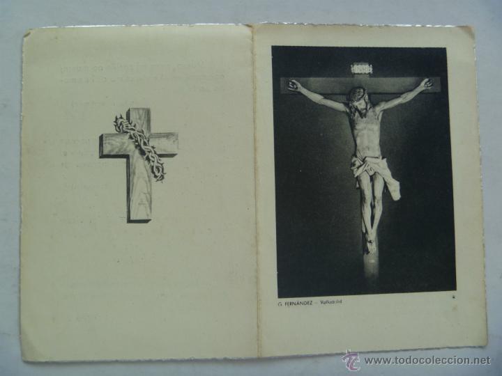 Militaria: RECORDATORIO MUERTE DE TENIENTE CORONEL DE INGENIEROS . BARCELONA, 1956 - Foto 2 - 52396157
