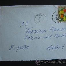 Militaria: CARTA DIRIGIDA AL GENERAL FRANCISCO FRANCO DESDE MARRUECOS. SECRETARÍA PARTICULAR GENERALISIMO . Lote 52923847