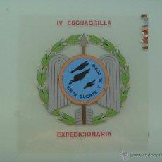Militaria - DIVISION AZUL : FOTOLITO ORIGINAL PINTADO A MANO DE LA IVª ESCUADRILLA AZUL EXPIDICIONARIA - 53509282