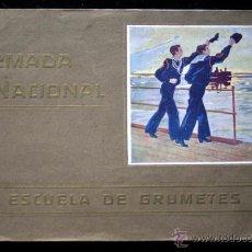 Militaria: ARMADA NACIONAL - ESCUELA DE GRUMETES - ARGENTINA - ANTIGUO - CON 15 FOTOGRAFÍAS. Lote 53890899