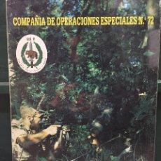 Militaria: CUADRO ANTIGUO DE LA COMPAÑÍA DE OPERACIONES ESPECIALES N. 72. Lote 54646231