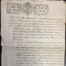 Militaria: ORDEN MILITAR DE ALCANTARA. 1819. Lote 54950352
