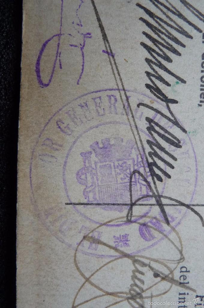 Militaria: (JX-1467)Carnet de Suboficial del Cuerpo de Seguridad , Guardia de Asalto , Guerra Civil . - Foto 4 - 56498035