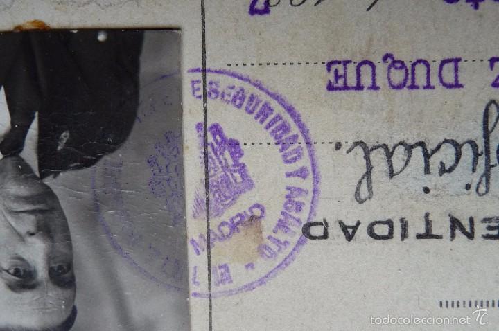 Militaria: (JX-1467)Carnet de Suboficial del Cuerpo de Seguridad , Guardia de Asalto , Guerra Civil . - Foto 5 - 56498035