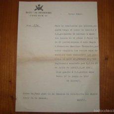 Militaria: HOJA DE PROPUESTA DE ASCENSO DE MAESTRO ARMERO DEL REGIMIENTO DE INFANTERIA CADIZ Nº 67, AÑO 1907.. Lote 56804219