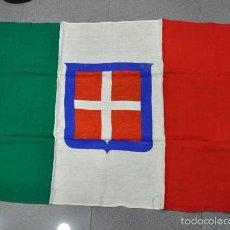 Militaria: ITALIA. BANDERA ITALIANA DEL PERÍODO DE LA 2ª GUERRA MUNDIAL 80X120 CM.. Lote 56893647