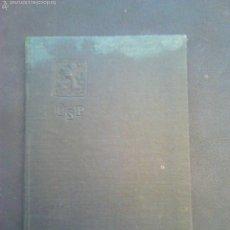 Militaria: CARTILLA DE TRABAJO DE MORAVIA AÑO 1930 CON VARIOS AÑOS DE SELLO. Lote 56984305