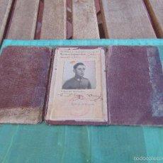 Militaria: CARNET DE CONDUCIR LICENCIA DE CONDUCCION AÑO 1932. Lote 57181211