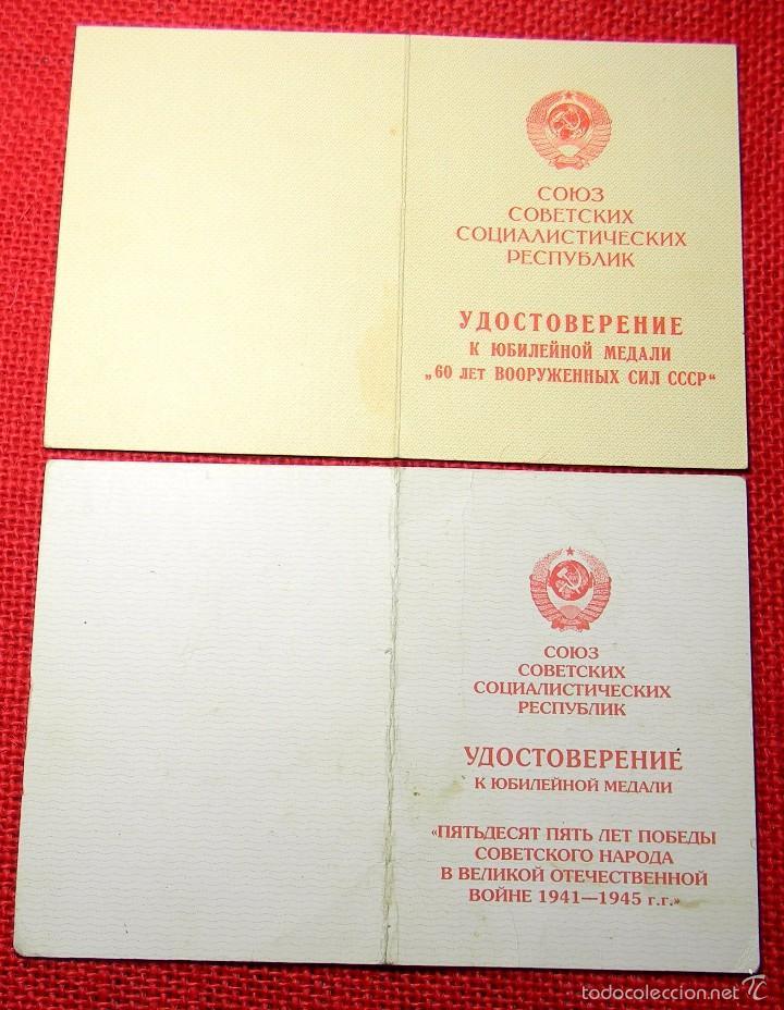 Militaria: Lote de concesiones de medallas rusas - Originales - URSS - CCCP - Guerra Fria . mod. 6 - Foto 2 - 57274105
