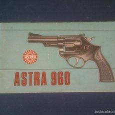 Militaria: MANUAL INSTRUCCIONES Y DESPIECE REVOLVER ASTRA MOD 960. Lote 57419538