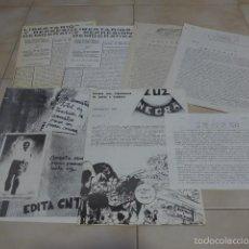 Militaria: LOTE DE REVISTA, PANFLETO, OCTAVILLA DE TRANSICION POLITICA. CNT, ANARQUISTA, EXTREMA IZQUIERDA. Lote 57951681