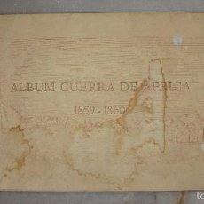 Militaria: ÁLBUM GUERRA DE ÁFRICA 1859 - 1860. CON 15 ACUARELAS.. Lote 58016821