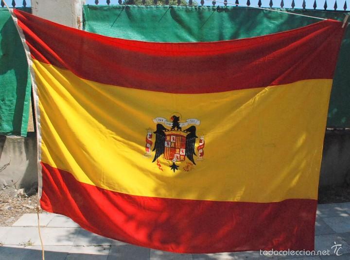 bandera espana escudo bordado