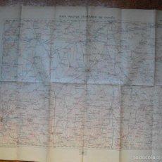 Militaria: 1919 HOJA 34 DEL MAPA MILITAR ITINERARIO SALAMANCA, VALLADOLID, AREVALO... Lote 58290097