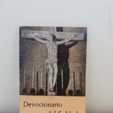 Militaria: DEVOCIONARIO DEL SOLDADO. MINISTERIO DEL EJERCITO. 1952. Lote 58516300