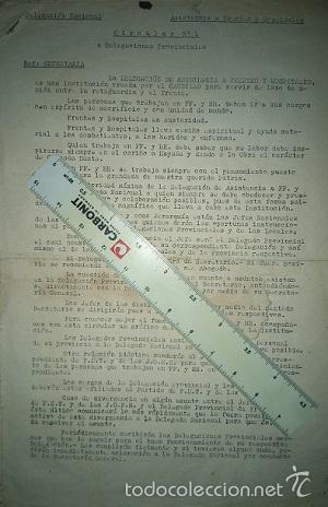 Militaria: COLECCION DE CIRCULARES DE FRENTES Y HOSPITALES 1938-39 ENVIADAS DE BILBAO A ALICANTE CARLISMO - Foto 8 - 58890076