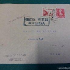 Militaria: SOBRE CENSURA MILITAR ASTORGA. Lote 59823932