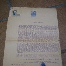 Militaria: INSTANCIA PAPELES PADRE SOLICITANDO PENSIÓN POR SU HIJO. GUERRA CIVIL CÁDIZ 1939. Lote 60004303