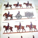 Militaria: 2 LÁMINAS SOLDADOS ESPAÑOLES 1910- MUSEO DEL EJÉRCITO. Lote 61675876