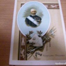 Militaria: TORCUATO MENDIRY - ALLO 1813 , TUDELA 1884 - MILITAR GENERAL CARLISTA - CROMOLITOGRAFIA FELIPE ...... Lote 61854272