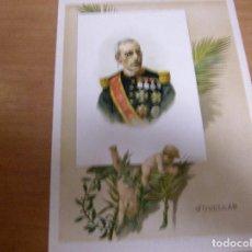 Militaria: JOVELLAR - PALMA MALLORCA 1819 , MADRID 1892 - MILITAR Y POLITICO ESPAÑOL PRESIDENTE - .............. Lote 61854544