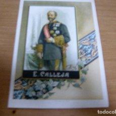 Militaria: E. CALLEJA - MILITAR ESPAÑOL (CARLISTA) - CROMOLITOGRAFIA: FELIPE GONZALEZ ROJAS , EDITOR. Lote 61855880
