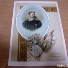 Militaria: ANTONIO DORREGARAY - CEUTA 1823/ZARAGOZA 1882 - CAPITAN GENERAL CARLISTA - VICTORIAS MONTEJURRA 1873. Lote 61856448