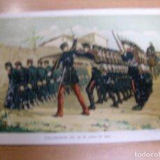 Militaria: FUSILAMIENTOS 25 JUNIO 1866 - GUERRA CARLISTA - CROMOLITOGRAFIA DEL AÑO 1892 DE: ...... Lote 61861176