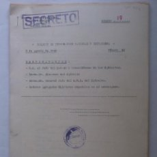 Militaria: ESTADO MAYOR CENTRAL DEL EJERCITO,2ª SECCION, BOLETIN DE INFORMACION NACIONAL Y EXTRANJERA, Nº 42. Lote 61900900