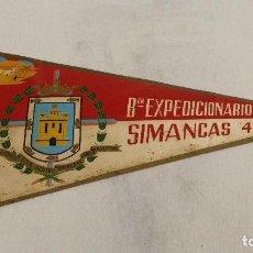 Militaria: BANDERIN BATALLON EXPEDICIONARIO SIMANCAS 4, IFNI 1959 SAHARA, SIDI IFNI, . Lote 63155328