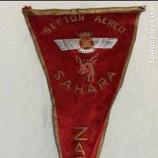 Militaria: BANDERIN SECTOR AERERO DEL, SAHARA ZACAO, SIDI IFNI, . Lote 63155924