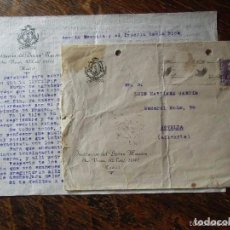 Militaria: SOBRE CIRCULADO DE MADRID A NOVELDA (ALICANTE). 15/12/1939. MARCAS DE CENSURA MILITAR. Lote 64180435