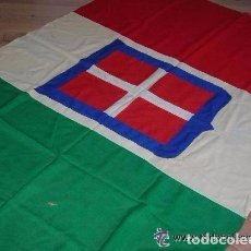 Militaria: GRAN BANDERA ITALIANA. CTV GUERRA CIVIL. 2ª GUERRA MUNDIAL. ORIGINAL 100%.. Lote 64907827