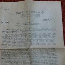Militaria: BOLETIN DE INFORMACION 560. EMBAJADA DE ALEMANIA EN MADRID. GRECIA UN ELOCUENTE EJEMPLO. ENERO 1945. Lote 65849106