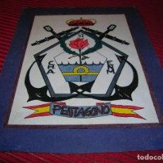 Militaria: CARTEL MILITAR .DIBUJADO A MANO.. Lote 66019570