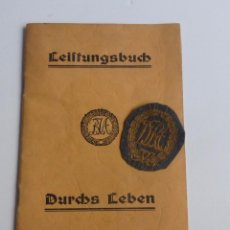 Militaria - Original Leistungsbuch de la segunda guerra mundial. 1939 - 1945 - 67257889