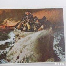Militaria: RARO. ORIGINAL POSTAL DE LA SEGUNDA GUERRA MUNDIAL DE UN U-BOOT / SUBMARINO.. Lote 67270173