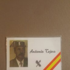 Militaria: CARNET TENIENTE CORONEL TEJERO 23 F GOLPE DE ESTADO. Lote 69274801