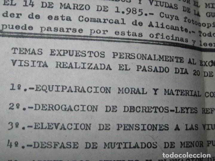 Militaria: sobre y carta LIGA PAIS VALENCIANO MUTILADOS GUERRA CIVIL ESPAÑA 1936 39 ALICANTE SAN BLAS - Foto 5 - 70058425