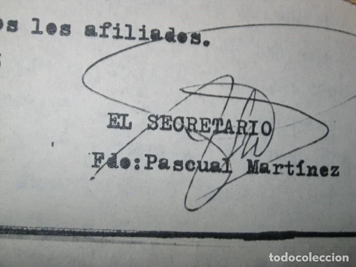 Militaria: sobre y carta LIGA PAIS VALENCIANO MUTILADOS GUERRA CIVIL ESPAÑA 1936 39 ALICANTE SAN BLAS - Foto 6 - 70058425