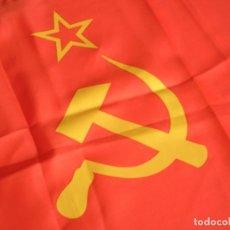 Militaria: BANDERA DE LA UNION SOVIETICA. URSS. MARCAJES DE FABRICACIÓN. ORIGINAL 100%.. Lote 71918347