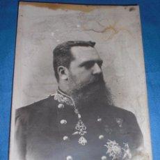 Militaria: ANTIGUA POSTAL CARLOS VII CARLISMO. Lote 73812315