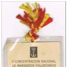 Militaria: CRUCERO BALEARES - II CONCENTRACIÓN NACIONAL DE MARINEROS VOLUNTARIOS DE LA CRUZADA - CARTAGENA-MUR,. Lote 74176011
