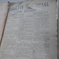 Militaria: BOLETINES OFICIALES MES ABRIL 1938 (NÚMEROS 527 AL 556) TERCIO GUARDIA CIVIL. Lote 74280323