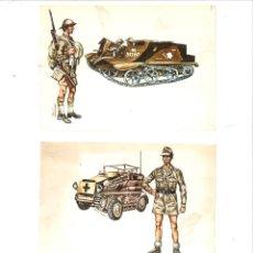 Militaria: FICHAS DE SOLDADOS Y ARMAMENTO. CÍRCULO DE AMIGOS DE LA HISTORIA. Lote 75690951