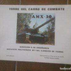 Militaria: AMX -30.TORRE DEL CARRO DE COMBATE. Lote 75938603