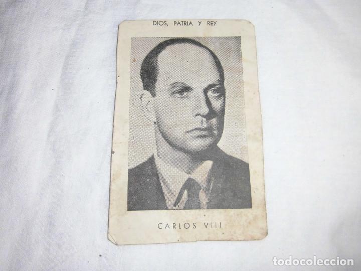 CARLISMO FOTOGRAFIA DE CARLOS VII. (Militar - Propaganda y Documentos)