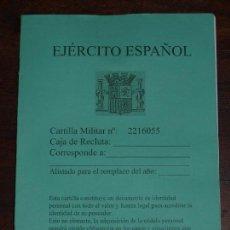 Militaria: REPRODUCCION TAPAS DE CARTILLA MILITAR DEL EJERCITO ESPAÑOL. REPUBLICA. VER FOTOS Y DESCRIPCION. Lote 77999625